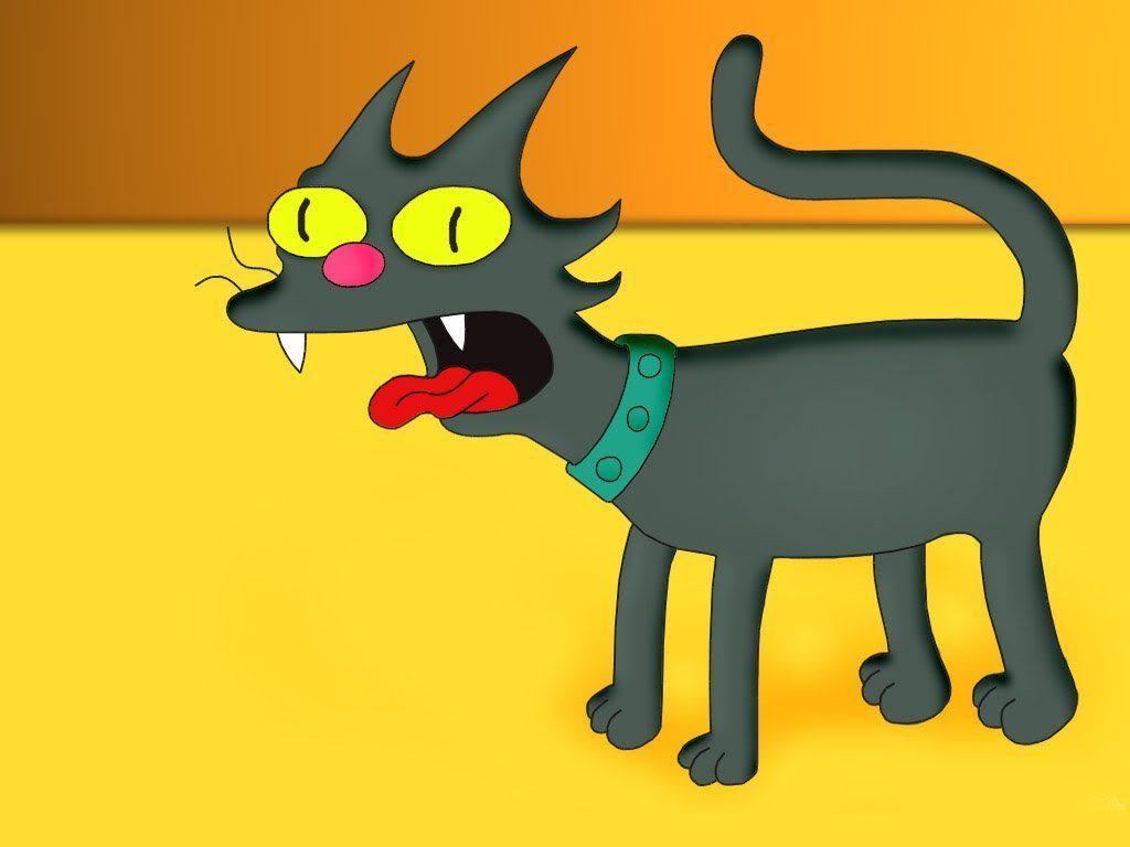 Papel de parede Os Simpsons – Bola-de-Neve para download gratuito. Use no computador pc, mac, macbook, celular, smartphone, iPhone, onde quiser!