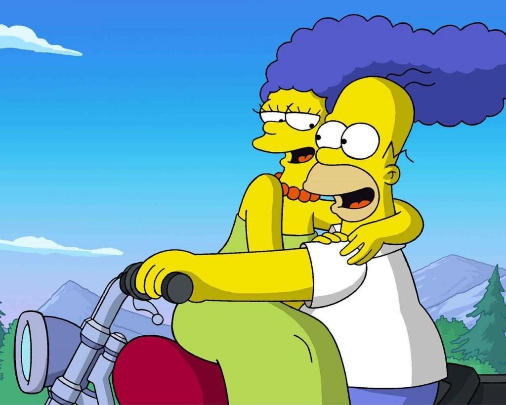 Papel de parede Os Simpsons – Amor para download gratuito. Use no computador pc, mac, macbook, celular, smartphone, iPhone, onde quiser!