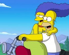 Papel de parede Os Simpsons – Amor