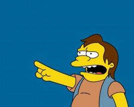 Papel de parede Os Simpsons – HA-ha