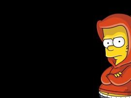 Papel de parede Os Simpsons – Bart do Gueto