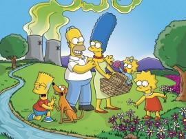 Papel de parede Os Simpsons – Passeio em Família