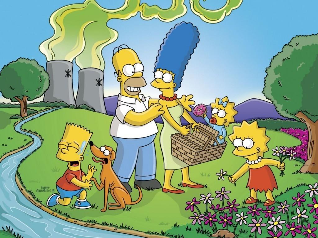 Papel de parede Os Simpsons – Passeio em Família para download gratuito. Use no computador pc, mac, macbook, celular, smartphone, iPhone, onde quiser!