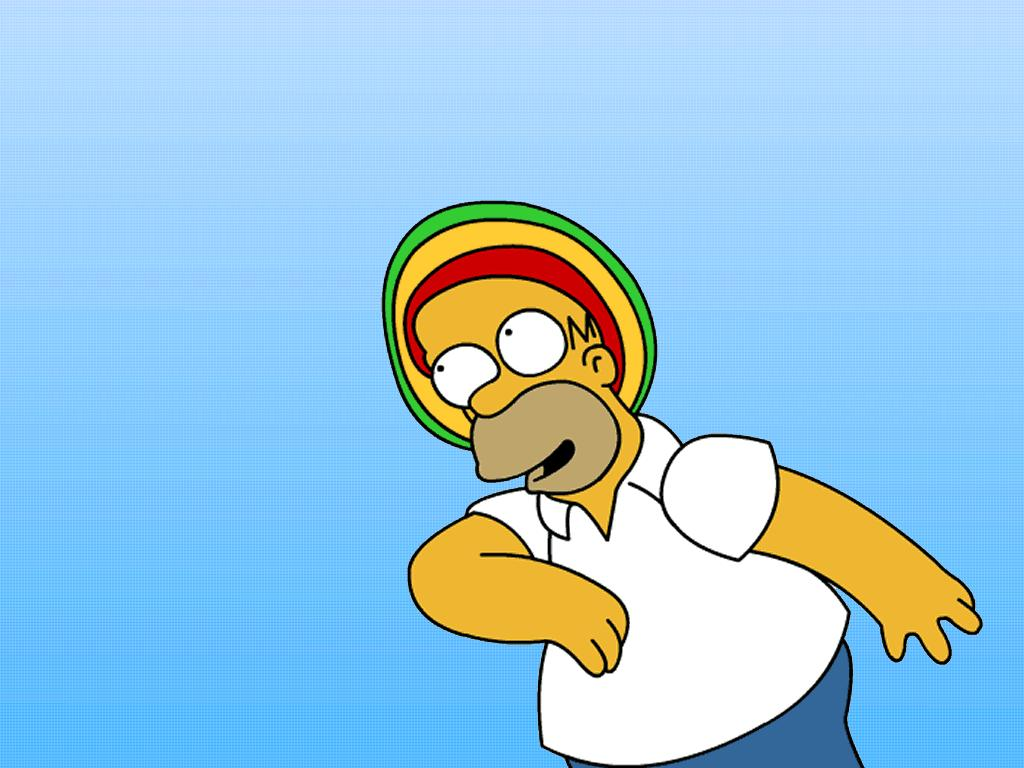 Papel de parede Os Simpsons – Reggae para download gratuito. Use no computador pc, mac, macbook, celular, smartphone, iPhone, onde quiser!