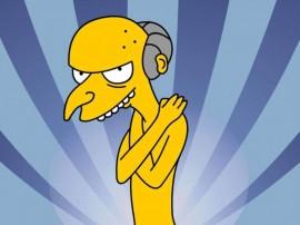 Papel de parede Os Simpsons – Burns