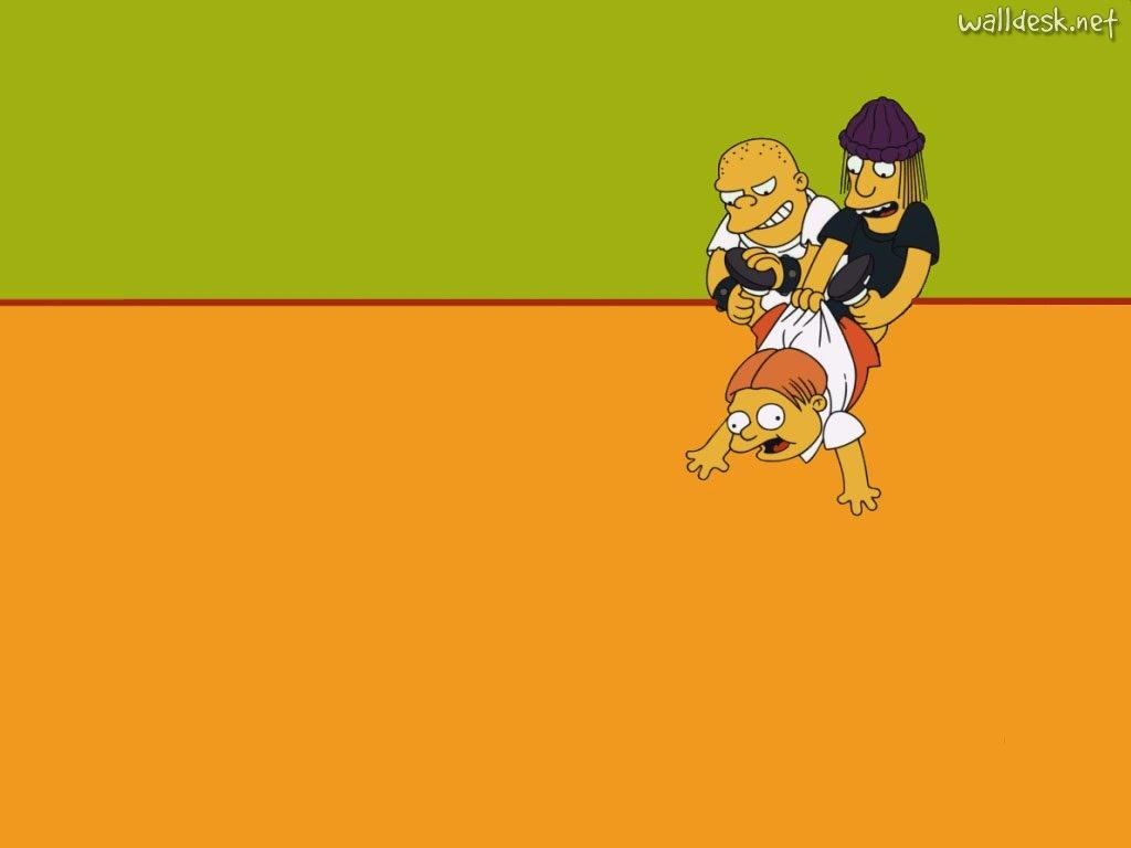 Papel de parede Os Simpsons – Valentões para download gratuito. Use no computador pc, mac, macbook, celular, smartphone, iPhone, onde quiser!
