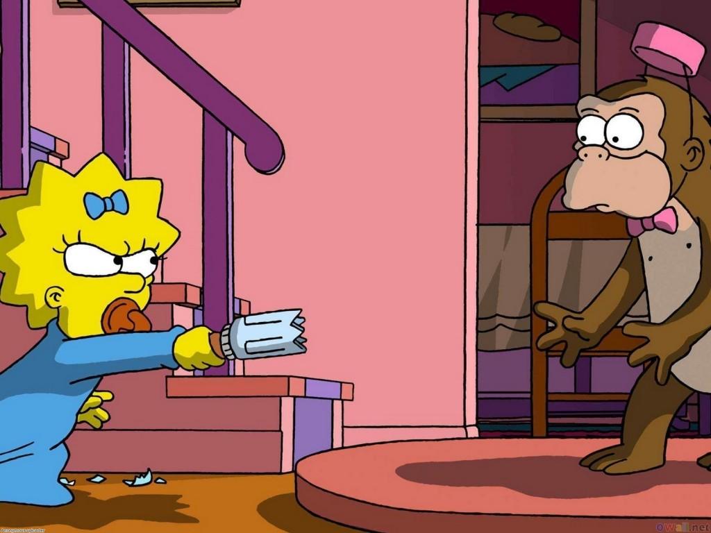 Papel de parede Os Simpsons – Sai pra lá! para download gratuito. Use no computador pc, mac, macbook, celular, smartphone, iPhone, onde quiser!