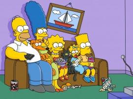 Papel de parede Família Simpsons