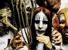 Papel de parede Slipknot: Banda Assustadora