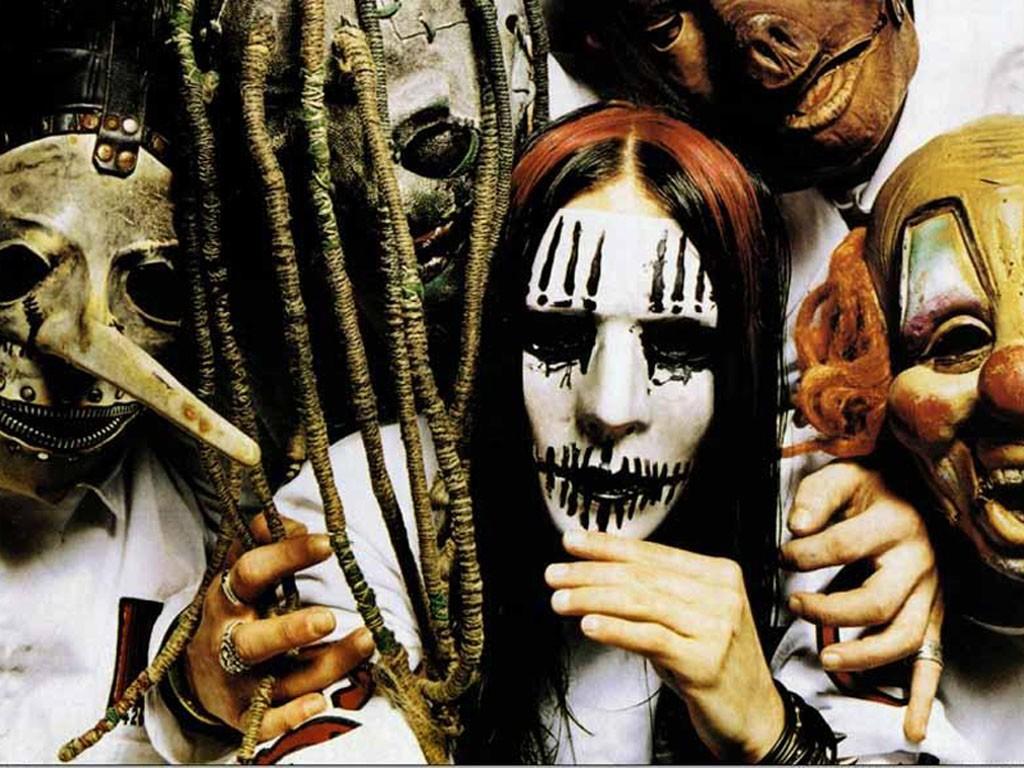 Papel de parede Slipknot: Banda Assustadora para download gratuito. Use no computador pc, mac, macbook, celular, smartphone, iPhone, onde quiser!