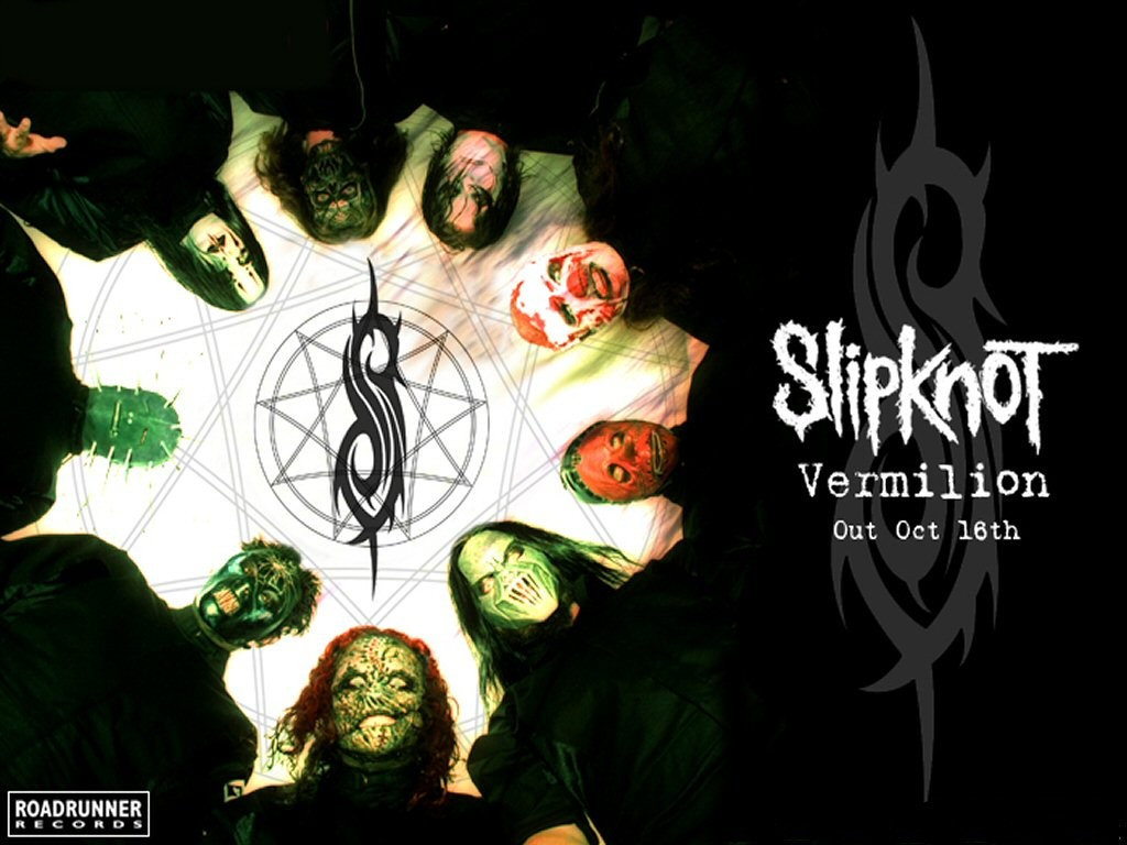 Papel de parede Slipknot: Vermilion para download gratuito. Use no computador pc, mac, macbook, celular, smartphone, iPhone, onde quiser!