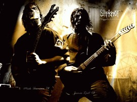 Papel de parede Slipknot: Mick Thomson e James Root