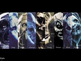 Papel de parede Slipknot: Máscaras Assustadoras