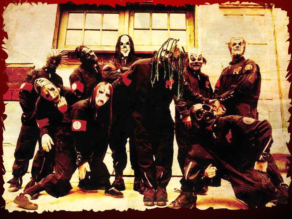 Papel de parede Slipknot: Amedrontador para download gratuito. Use no computador pc, mac, macbook, celular, smartphone, iPhone, onde quiser!