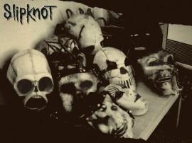 Papel de parede Slipknot: Somente as Máscaras
