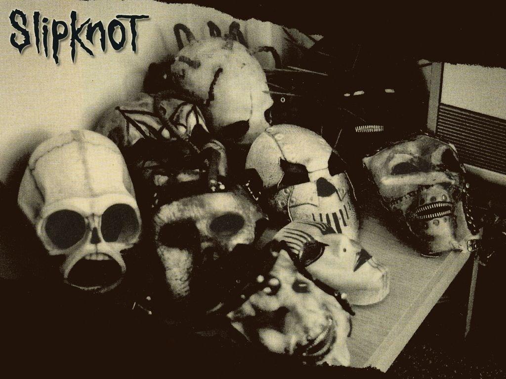 Papel de parede Slipknot: Somente as Máscaras para download gratuito. Use no computador pc, mac, macbook, celular, smartphone, iPhone, onde quiser!