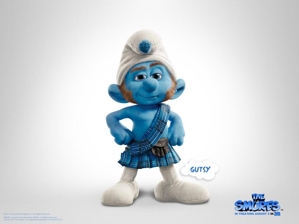 Papel de parede Smurfs – Gutsy para download gratuito. Use no computador pc, mac, macbook, celular, smartphone, iPhone, onde quiser!