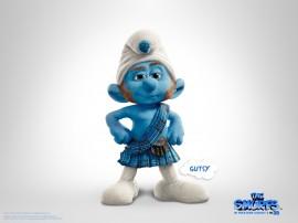Papel de parede Smurfs – Gutsy