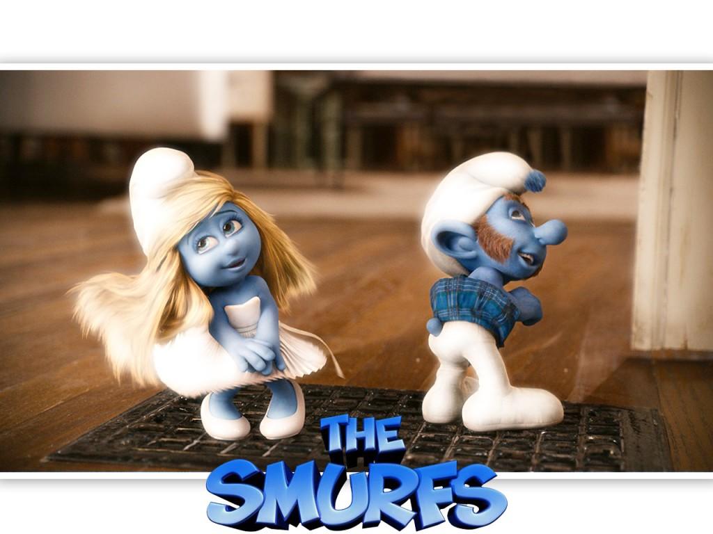 Papel de parede Smurfs – Marilyn Smurfette para download gratuito. Use no computador pc, mac, macbook, celular, smartphone, iPhone, onde quiser!