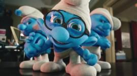 Papel de parede Smurfs – Olhando de Perto