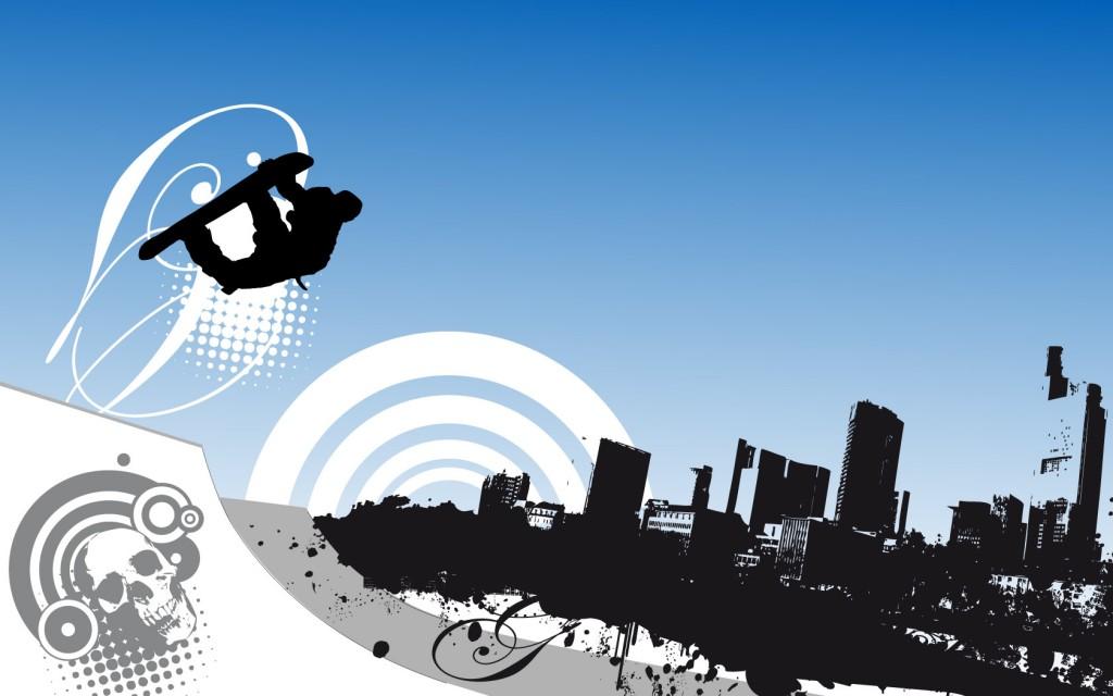 Papel de parede Snowboard – Desenho para download gratuito. Use no computador pc, mac, macbook, celular, smartphone, iPhone, onde quiser!