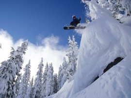 Papel de parede Snowboard – Super Salto