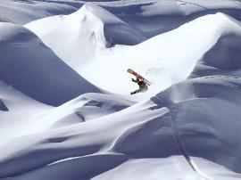 Papel de parede Snowboard – Radical