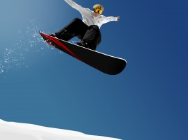 Papel de parede Snowboard – Salto