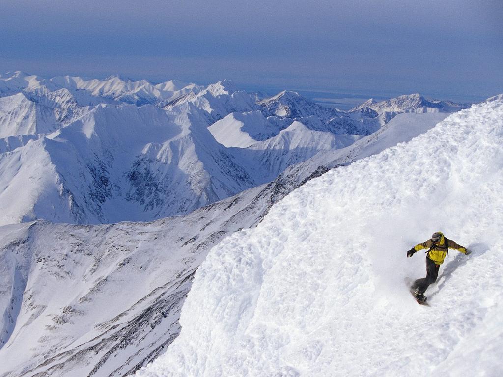 Papel de parede Snowboard – Descida para download gratuito. Use no computador pc, mac, macbook, celular, smartphone, iPhone, onde quiser!