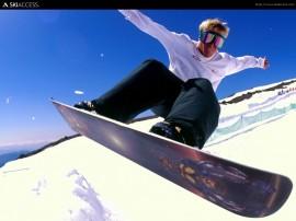 Papel de parede Snowboard – Esporte
