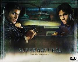 Papel de parede Supernatural – Dean e Sam