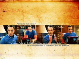 Papel de parede Sheldon – The Big Bang Theory