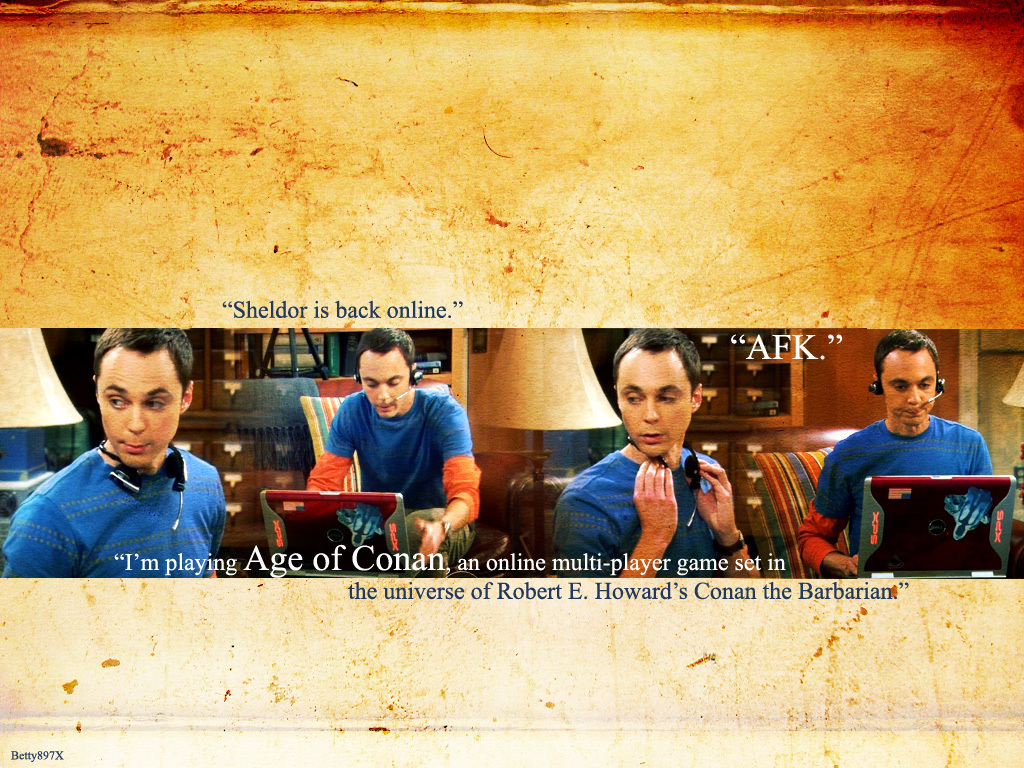 Papel de parede Sheldon – The Big Bang Theory para download gratuito. Use no computador pc, mac, macbook, celular, smartphone, iPhone, onde quiser!