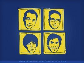 Papel de parede Geeks – The Big Bang Theory