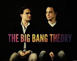 Papel de parede Leonard e Sheldon – The Big Bang Theory
