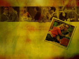Papel de parede Leonard e Penny – The Big Bang Theory