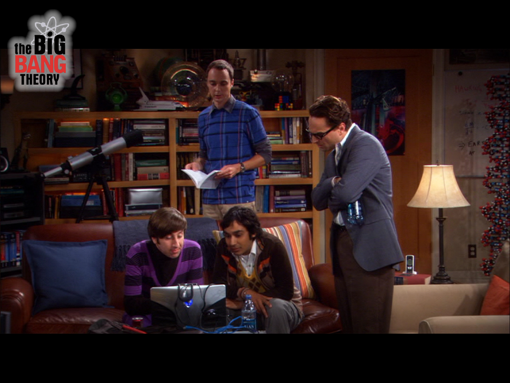 Papel de parede Amigos – The Big Bang Theory para download gratuito. Use no computador pc, mac, macbook, celular, smartphone, iPhone, onde quiser!