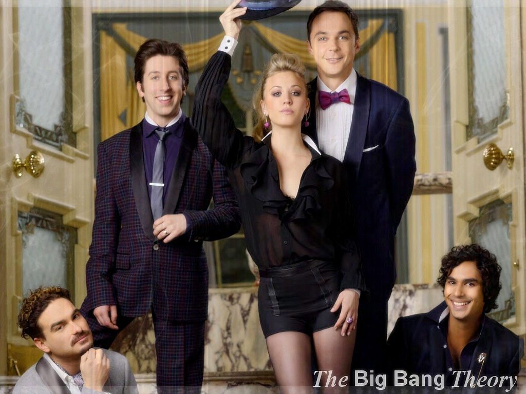 Papel de parede Chique – The Big Bang Theory para download gratuito. Use no computador pc, mac, macbook, celular, smartphone, iPhone, onde quiser!