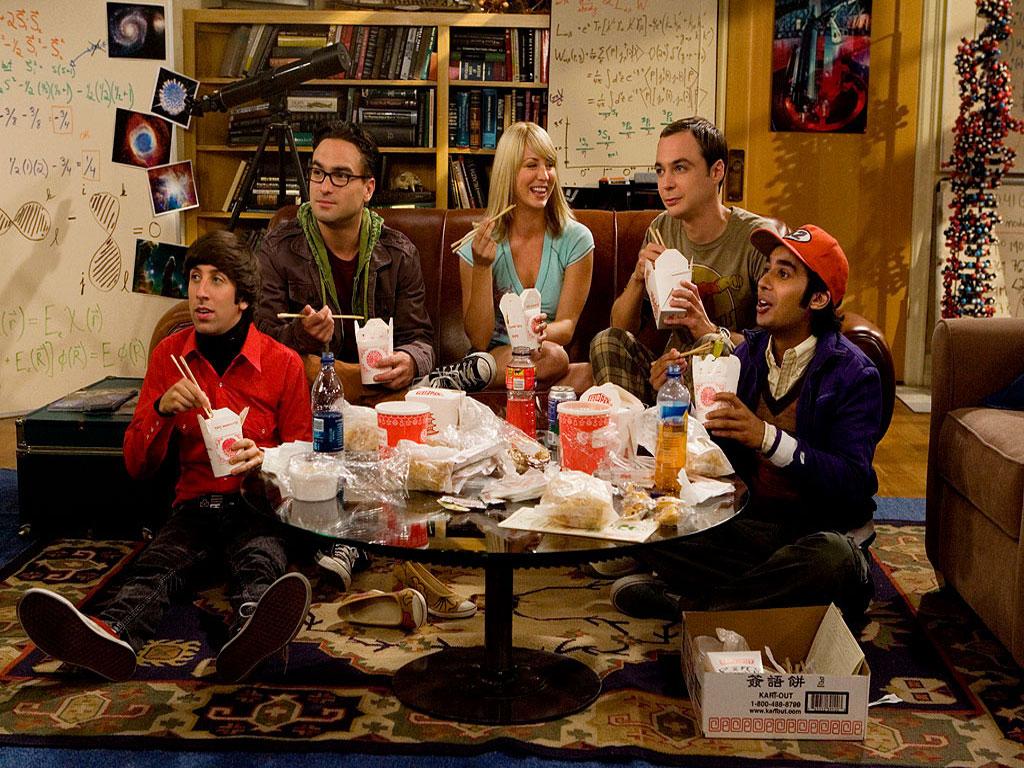 Papel de parede Comida Chinesa – The Big Bang Theory para download gratuito. Use no computador pc, mac, macbook, celular, smartphone, iPhone, onde quiser!