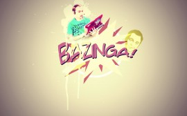 Papel de parede Bazinga – The Big Bang Theory