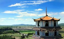 Papel de parede Tailândia: Casa Tradicional