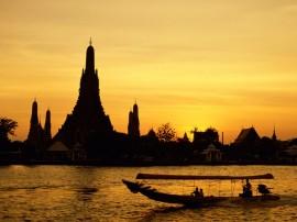 Papel de parede Tailândia: Entardecer
