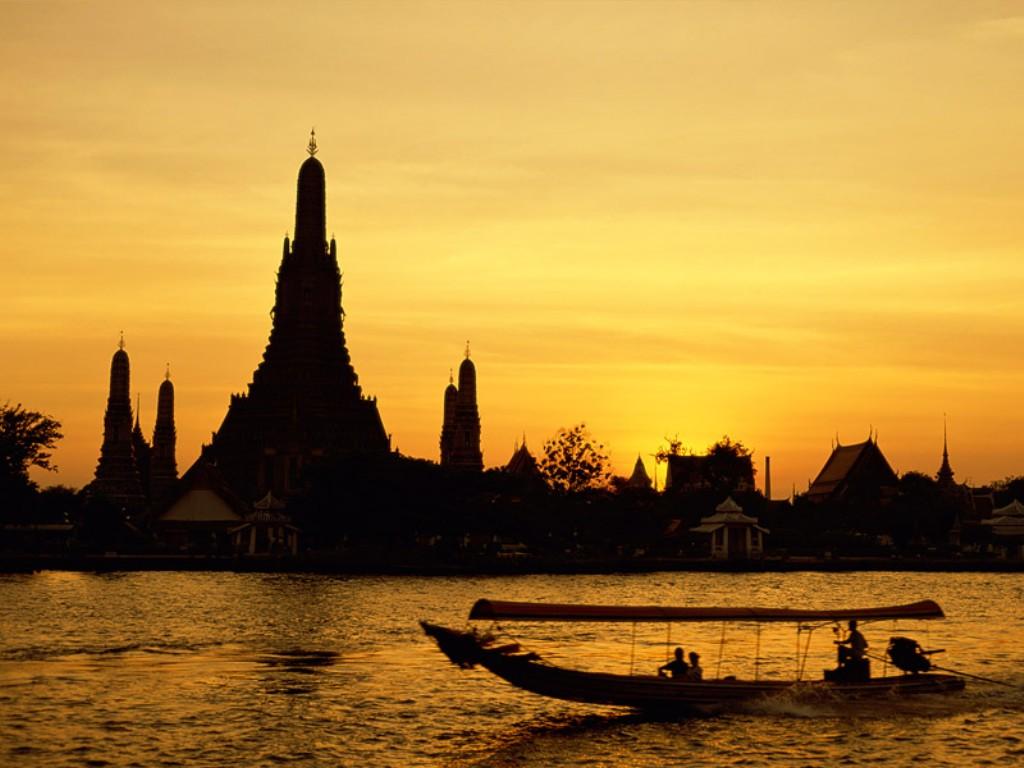 Papel de parede Tailândia: Entardecer para download gratuito. Use no computador pc, mac, macbook, celular, smartphone, iPhone, onde quiser!