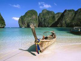 Papel de parede Tailândia: Barco