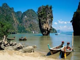 Papel de parede Tailândia: Praia Impressionante