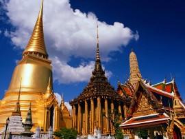Papel de parede Tailândia: Templos e Prédios