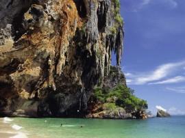 Papel de parede Tailândia: Formação Rochosa