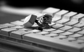 Papel de parede Teclado – Stormtrooper