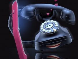Papel de parede Telefone Apaixonado por Celular