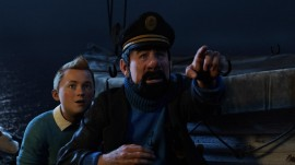 Papel de parede Capitão Haddock e Tintin